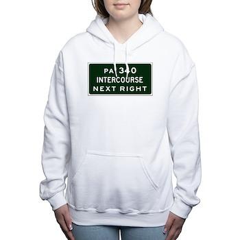Intercourse, PA Women's Hooded Sweatshirt