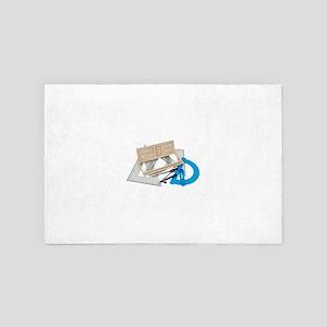 RemodelingPlans071809 4' x 6' Rug
