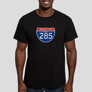 Interstate 285 - GA Men's Fitted T-Shirt (dark)