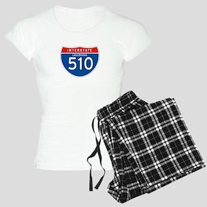 Interstate 510 - LA Women's Light Pajamas