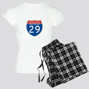 Interstate 29 - SD Women's Light Pajamas