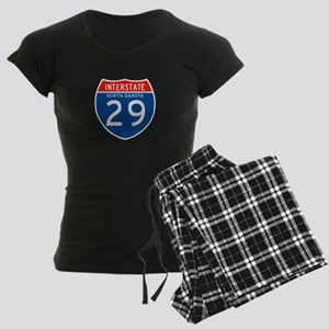 Interstate 29 - SD Women's Dark Pajamas
