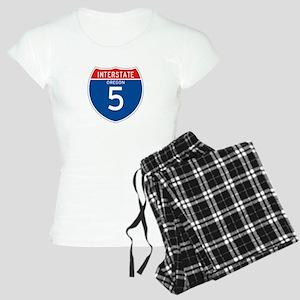 Interstate 5 - OR Women's Light Pajamas