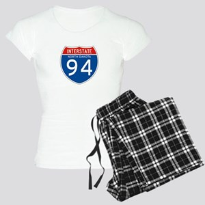 Interstate 94 - ND Women's Light Pajamas