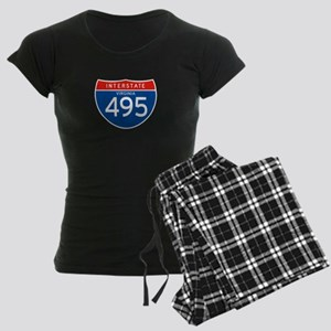 Interstate 495 - VA Women's Dark Pajamas
