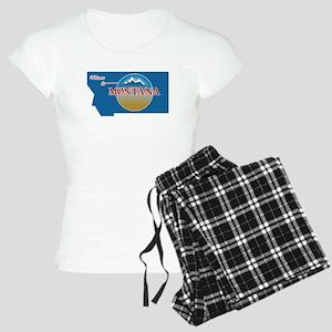 Welcome to Montana - USA Women's Light Pajamas