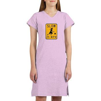 Slow 25 MPH Women's Nightshirt