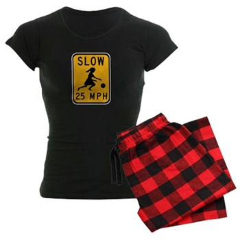 Slow 25 MPH Women's Dark Pajamas
