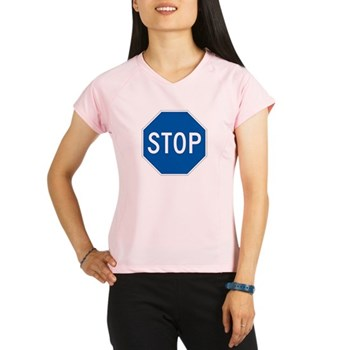 Stop, Hawaii (US) Performance Dry T-Shirt