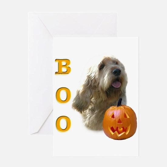 Otterhound Boo Greeting Card