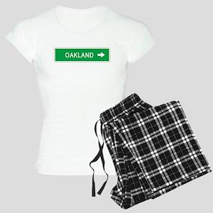 Roadmarker Oakland (CA) Women's Light Pajamas