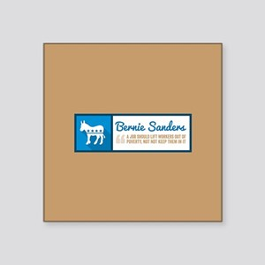 Bernie Sanders Jobs Sticker