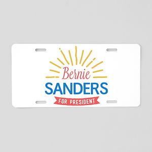 Bernie Sanders for President Aluminum License Plat