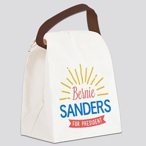 Bernie Sanders for President Canvas Lunch Bag