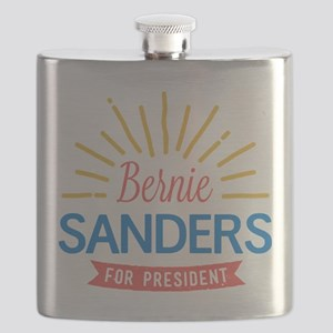 Bernie Sanders for President Flask