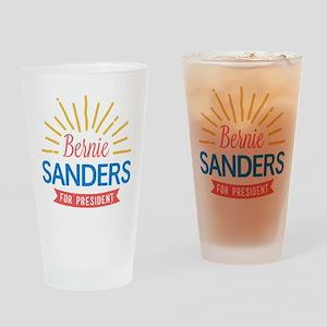 Bernie Sanders for President Drinking Glass