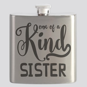 One Of A Kind Sister Flask