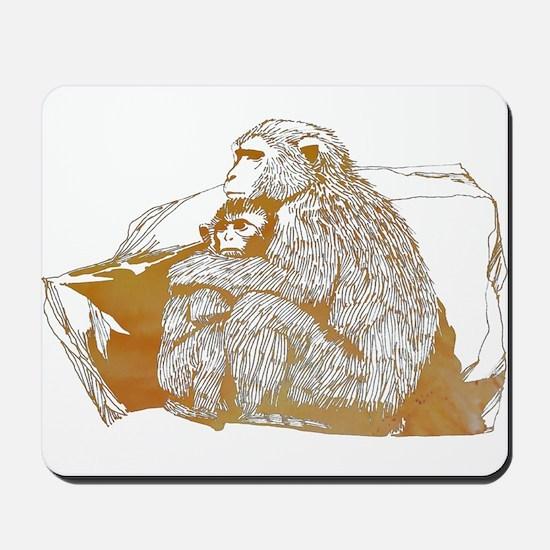 Macaque Mousepad