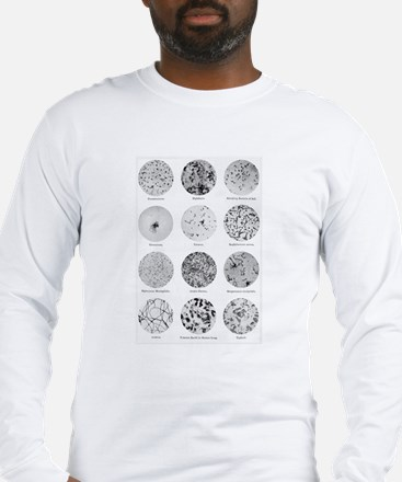 Bacterial Identification Chart Long Sleeve T-Shirt