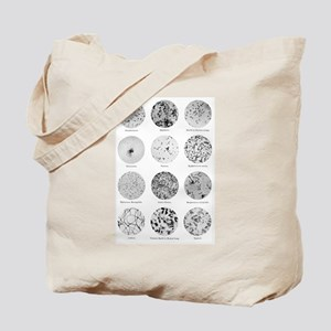 Bacterial Identification Chart Tote Bag