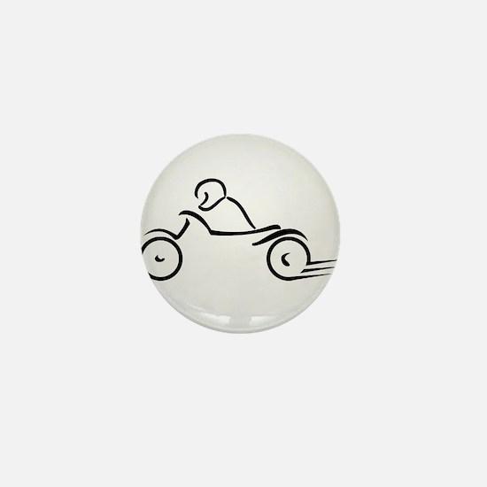 Cute Torque Mini Button