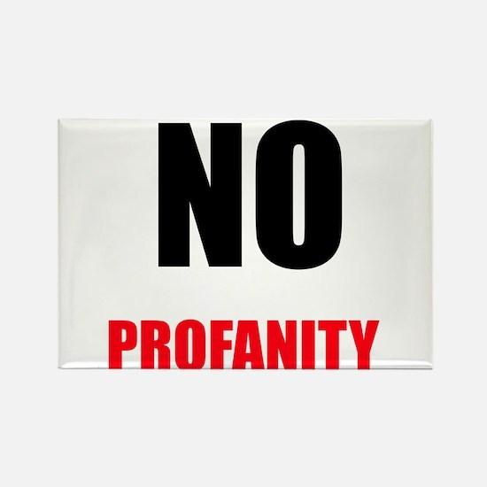 No Profanity Magnets