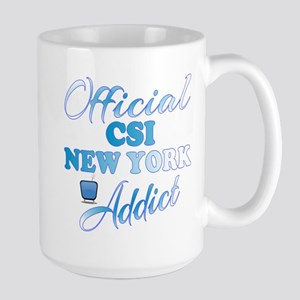 Official CSI New York Addict Mugs