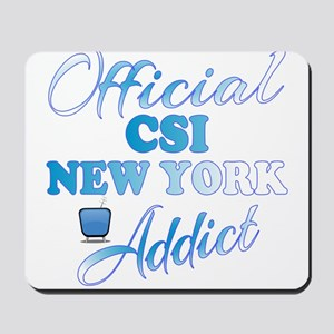 Official CSI New York Addict Mousepad