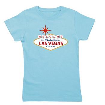 Welcome to Fabulous Las Vegas, NV Girl's Tee