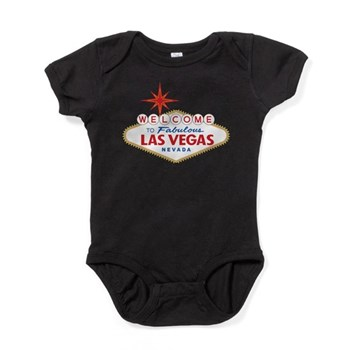 Welcome to Fabulous Las Vegas, NV Baby Bodysuit