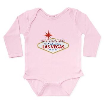 Welcome to Fabulous La Long Sleeve Infant Bodysuit