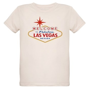 Welcome to Fabulous Las Vegas Organic Kids T-Shirt