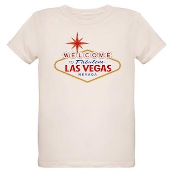 Welcome to Fabulous Las Vegas Organic Kids T-Shirt