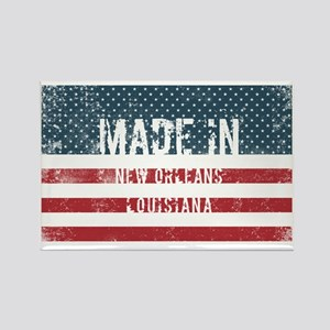 Made in New Orleans, Louisiana Magnets