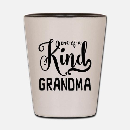 One of a kind Grandma Shot Glass