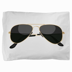 Sun Glasses Pillow Sham