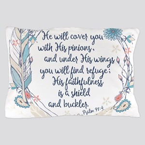 Under His Wings Pillow Case