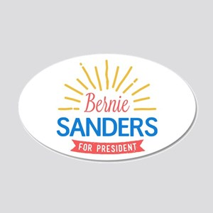 Bernie Sanders for President Wall Decal