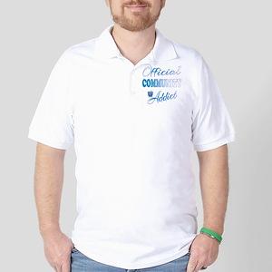Official COMMUNITY Addict Golf Shirt