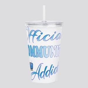 Official COMMUNITY Add Acrylic Double-wall Tumbler