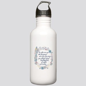 Under His Wings Stainless Water Bottle 1.0L