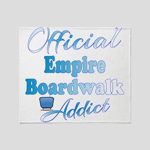 Official Boardwalk Empire Addict Throw Blanket