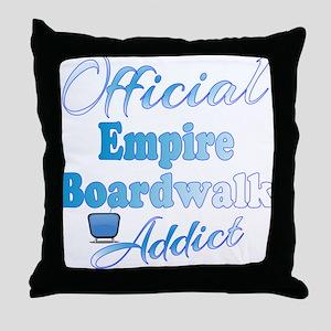 Official Boardwalk Empire Addict Throw Pillow