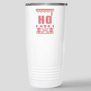 sweater knit christmas Stainless Steel Travel Mug