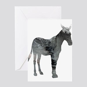 Mule Greeting Cards