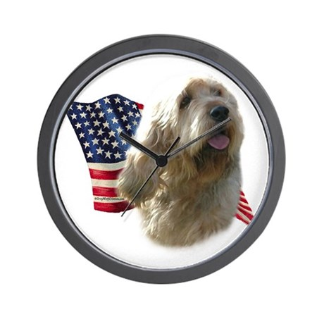 Otterhound Flag Wall Clock