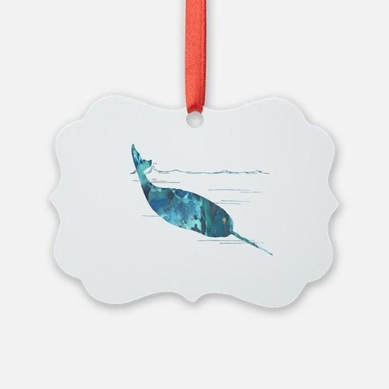 Funny Watercolour Ornament