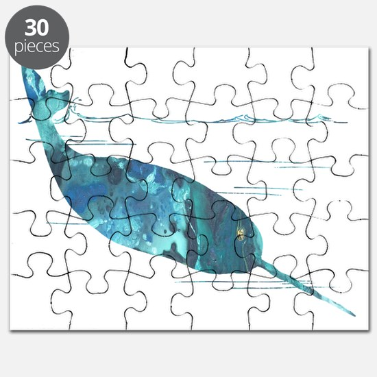 Funny Narwhal Puzzle