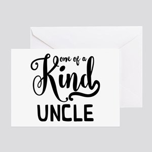 One of a kind Uncle Greeting Card