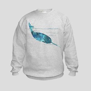 narwhal Kids Sweatshirt